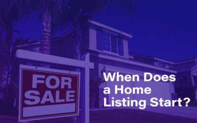When Does a Home Listing Start?