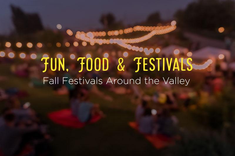 Valley Fall Food Festivals 2021