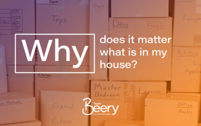 Why does it matter what is in my house?